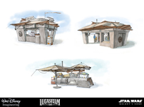 Small star wars kiosk concept art1b