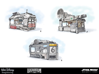 Small star wars kiosk concept art2